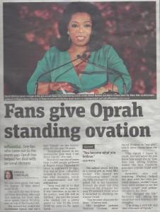 Oprah Article