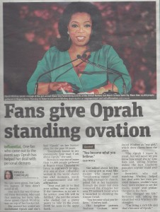 Oprah Article